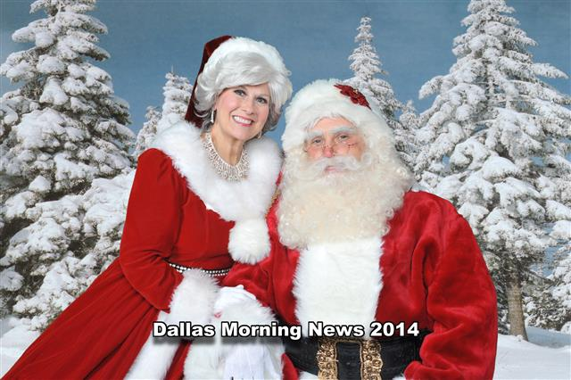 Dallas Morning News Santa Claus