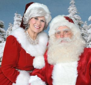 Christmas Party Entertainment in Dallas - Santa Mrs. Claus