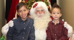 Fort Worth Santa Claus Home Visit