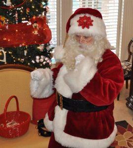 Real Santa Claus Home Visit