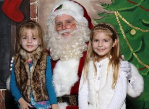 Fort Worth Pictures with Santa Claus