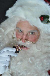 Santa Allen Cookie