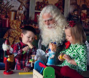 True Bearded Santa for Hire