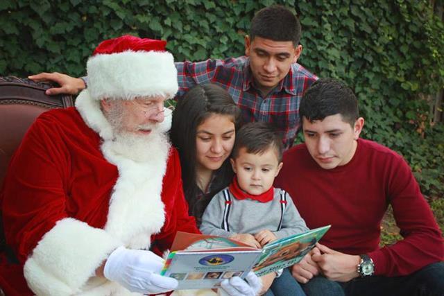 Real Beard Santa Home Visit