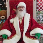 Santa and Santa Chair for Rent in Dallas