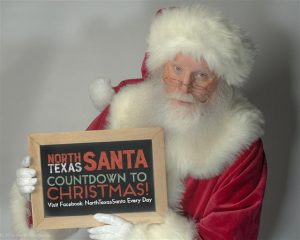 Dallas Naturally Bearded Santa Claus for Hire