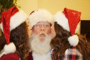 Fort Worth Real Beard Santa for Your Christmas Party