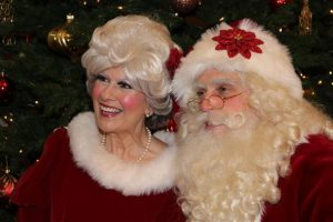 Santa and Mrs. Claus Fort Worth Visit