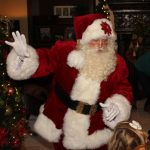 Santa Claus Home Visit in Dallas