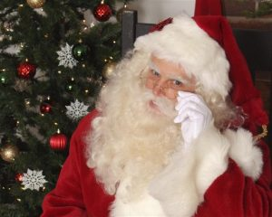 Dallas Country Club Santa Claus