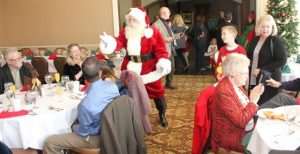 Fort Worth Santa Claus for Country Club Breakfast with Santa Events