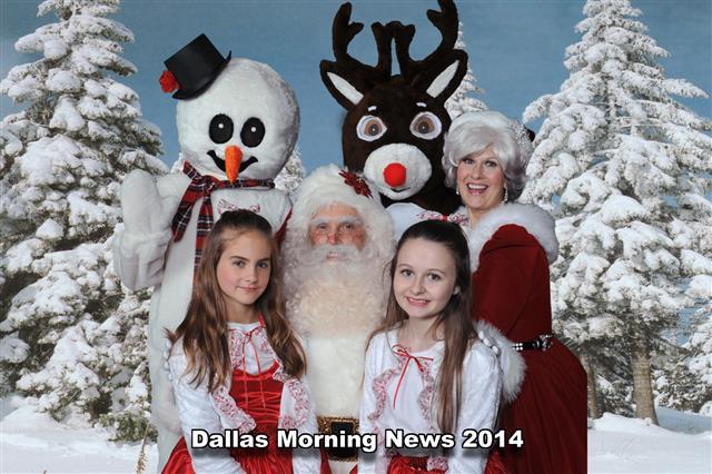 Dallas Morning News Holiday Party