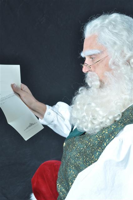 Linda McAlister Signs Santa Claus Allen