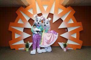 Easter Bunny for hire for Easter Egg Hunt