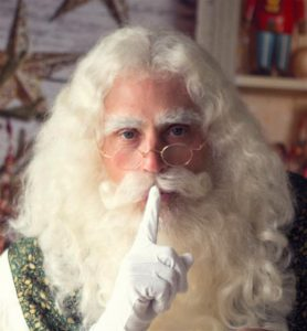 Actor Playing Santa Claus