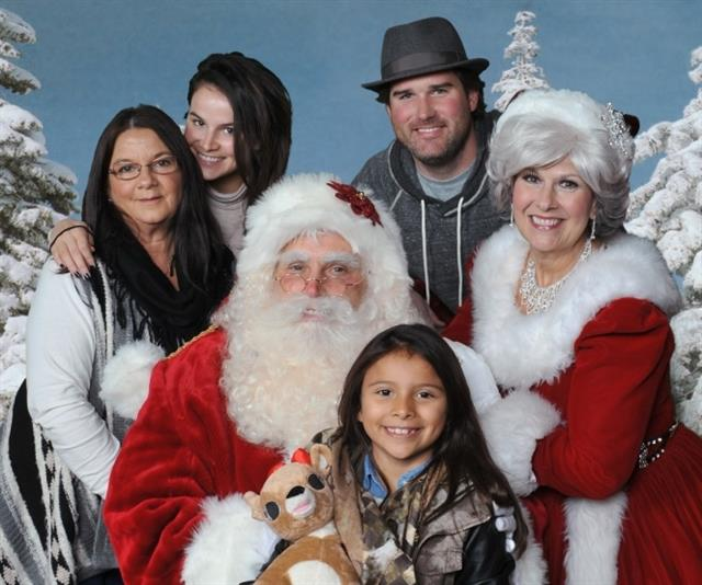 Real Bearded Santa Claus in Dallas TX
