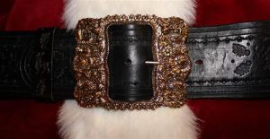 real santa claus belt