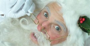 santa claus with eyeglass