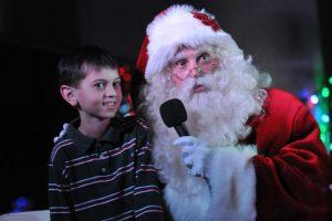 Texas Motor Speedway Santa Claus