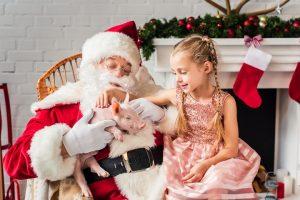 Playing Santa Claus at Christmas Parties